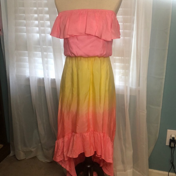 Lily Pulitzer high low dress size S